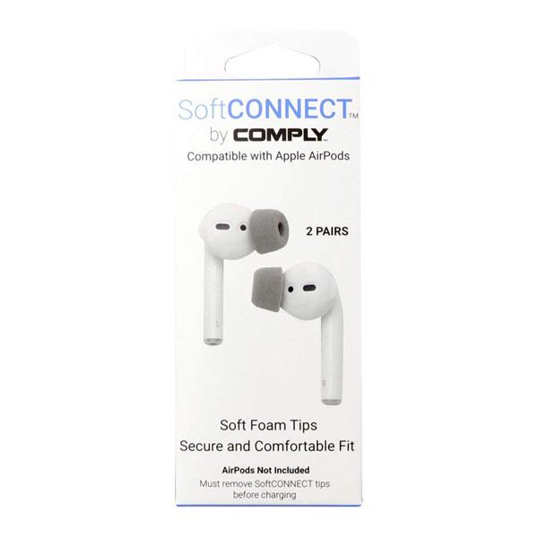 컴플라이 소프트 커넥트 애플 에어팟 이어팟 교체용 폼팁 M