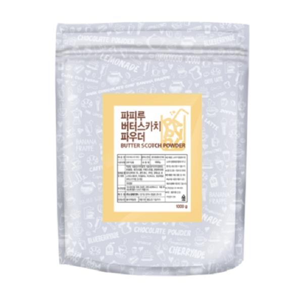 [첫 구매 시 30일 동안 무제한 무료배송] 파피루 버터스카치 라떼 파우더  1kg  1개
