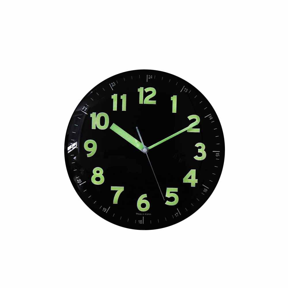 [첫 구매 시 30일 동안 무제한 무료배송] 컨벡스라운드 저소음 야광벽시계 290mm  혼합색상
