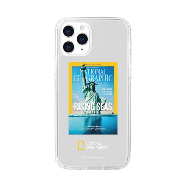 [첫 구매 시 30일 동안 무제한 무료배송] 내셔널지오그래픽 매거진 클리어 휴대폰 케이스  아이폰12/12프로  RISING SEAS