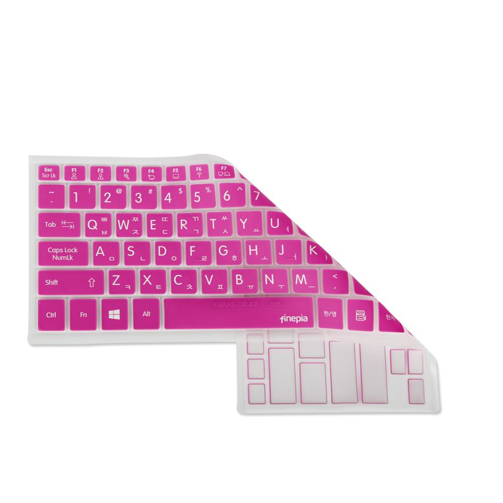[첫 구매 시 30일 동안 무제한 무료배송] 파인피아 갤럭시북 플렉스 NT930QCG-K716A용 문자키스킨 B타입  PINK  1개