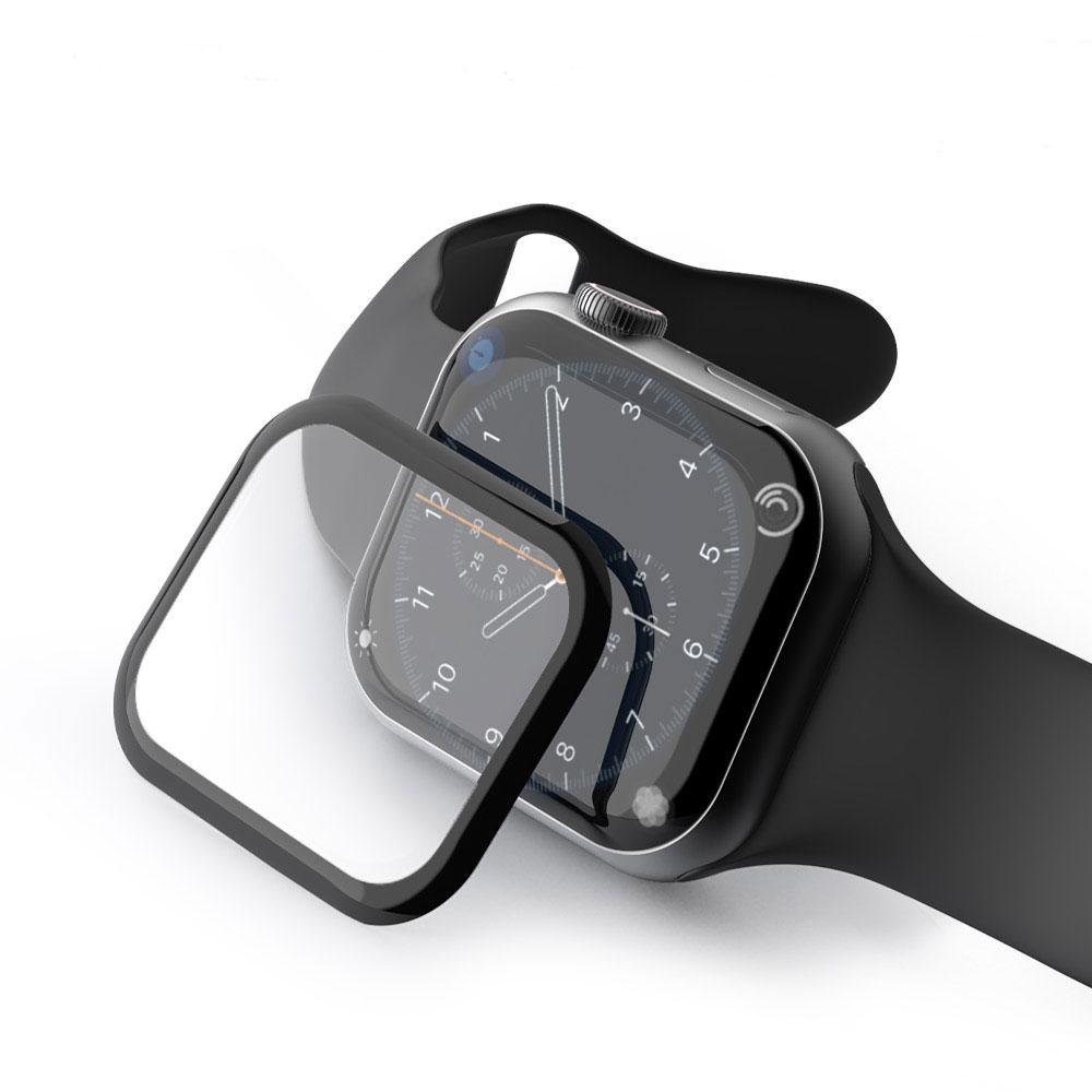 [첫 구매 시 30일 동안 무제한 무료배송] 구스페리 애플워치 3D 풀커버 액정 보호필름 1/2/3세대 호환 42mm  혼합색상  1개