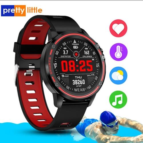 [해외] PrettyLittle L8 스마트워치 IP68 스포츠 휘트니스 시계 프리티리틀