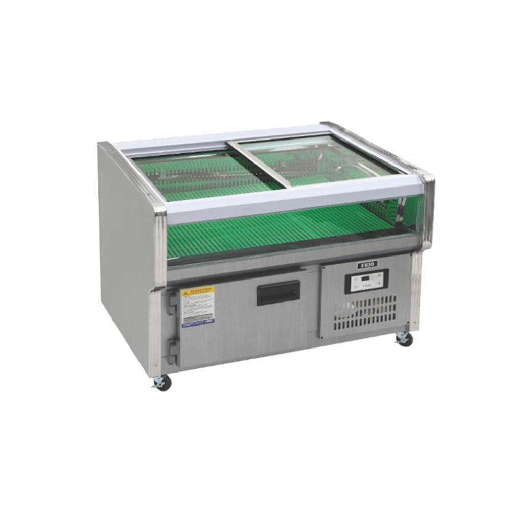 업소용/생선평대/냉장고/HFS/한국냉동산업  1200x800x900