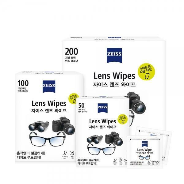 자이스 안경/렌즈/휴대폰액정 살균 와이프 모음전