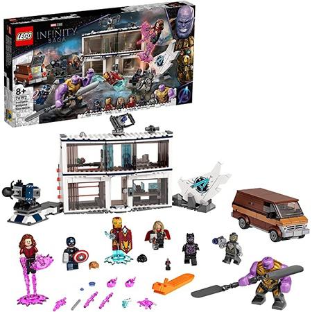 [해외] LEGO Store 무료 배송 및 적격 주문에 대한 반품을 방문하십시오. LEGO 76192 마블 어벤져스: 엔드게임 파
