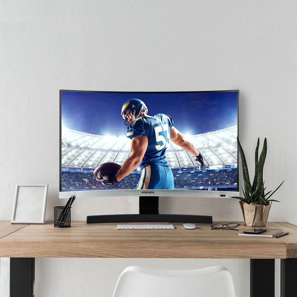 디엘티 모넥스 M2732X 27인치 커브드 모니터 TV 겸용 삼성패널 LED TV
