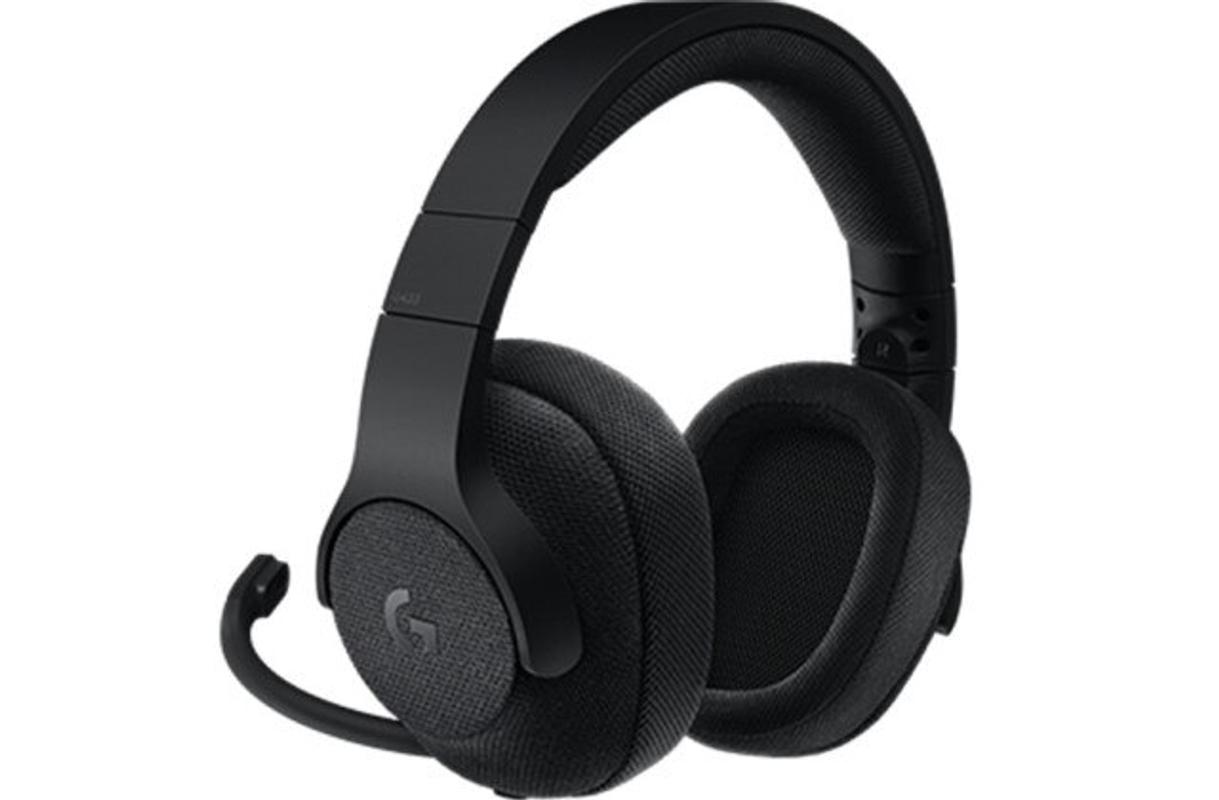 [해외] 이어폰 생일선물 블루투스 가성비 고음질 로지텍 G433 PUBG FPS 게임용 유선 7.1sound 채널 게임 헤드셋 헤드폰 핀 포인트
