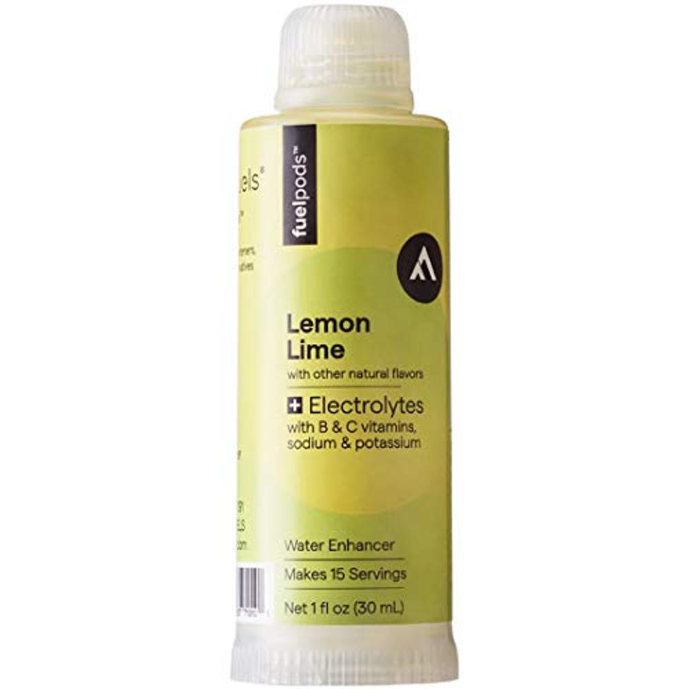 [해외] 라이프퓨즈 LifeFuels 레몬 라임맛 워터 인핸서 30ml