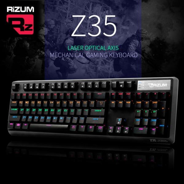 리스트 스타일 심플한 모던 감각 컨셉 단순한 평범한리줌 기계식 키보드 광축 (블랙) (Z35)리스트 스타일 심플한 모던 감각 컨셉 단순한 평범한  본상품