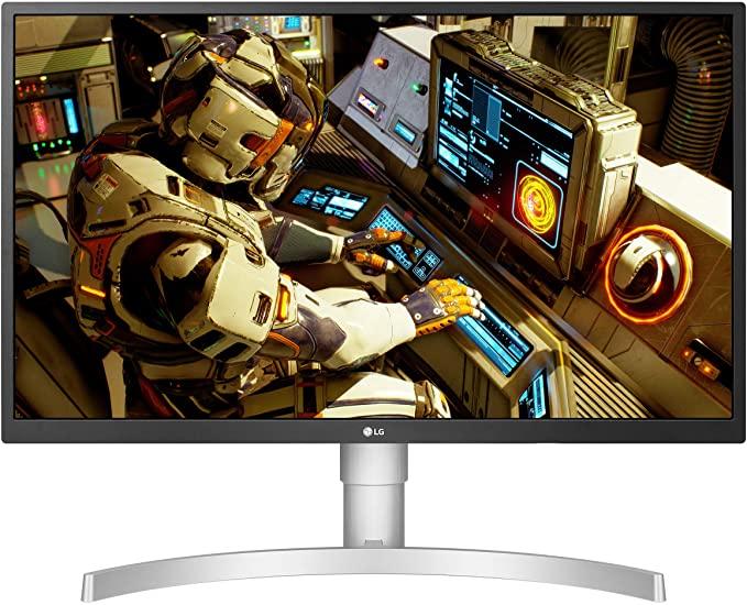 [해외] LG 27UL550-W 27 Inch 4K UHD IPS LED HDR Monitor with Radeon Freesync Technology and HDR 10 Silver  1