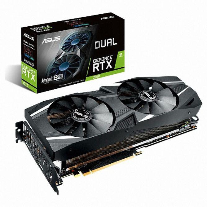 DUAL 지포스 RTX 2070 A8G D6 8GB gtx1660슈퍼/1660super/그랙픽카드/gtx1060/rtx2070super/rtx2060super/rx580/rx570