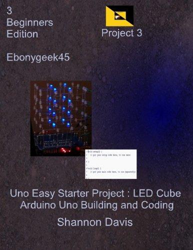 [해외] Uno Easy Starter Project LED Cube Arduino Uno Building and Coding Arduino LED Cube Volume 3