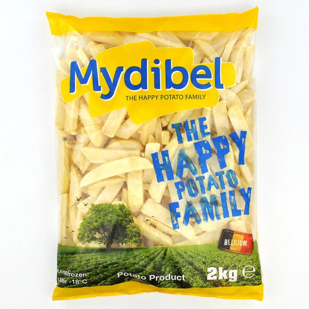MYDIBEL 벨기에산 프리미엄 스테이크 하우스 감자튀김 2kg