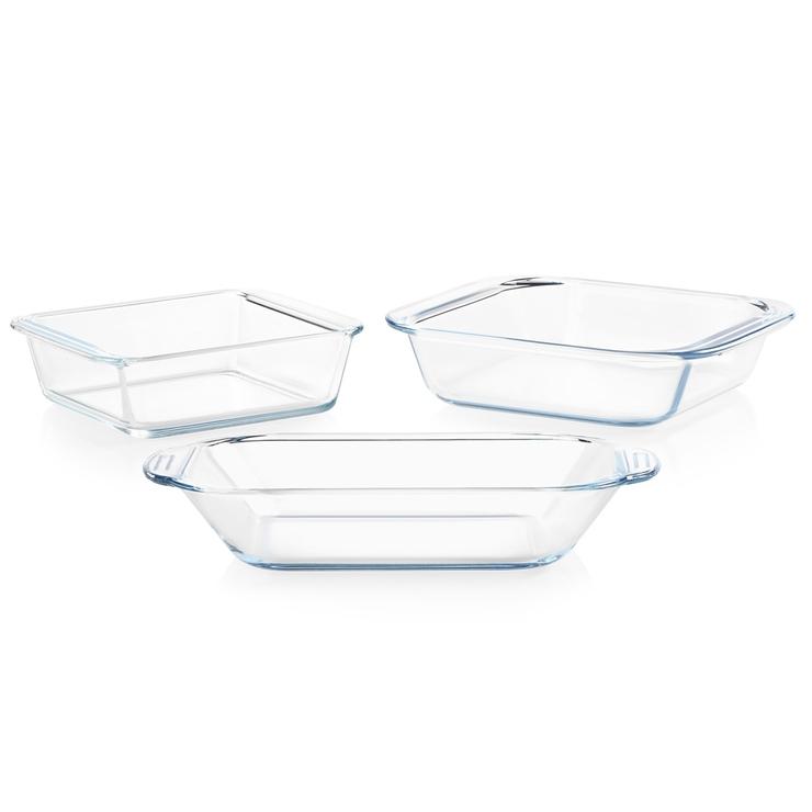 파이렉스 리틀스 베이크웨어 세트 3P | 베이킹 오븐 내열 유리 용기 오븐용기 | Pyrex Littles Bakeware 3P Set