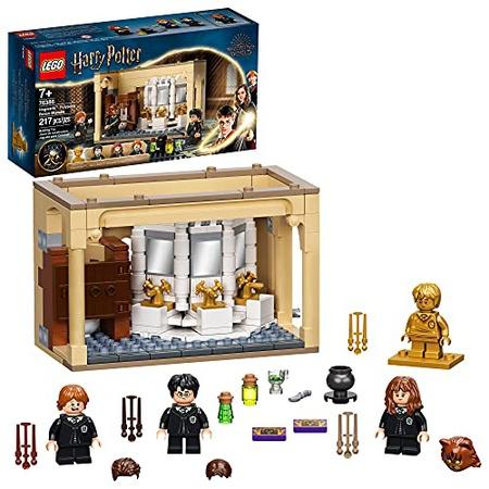 [해외] LEGO Harry Potter Hogwarts: Polyjuice Potion Mistake 76386 미니피겨 변형이 포함된 욕실 조립 키트; N