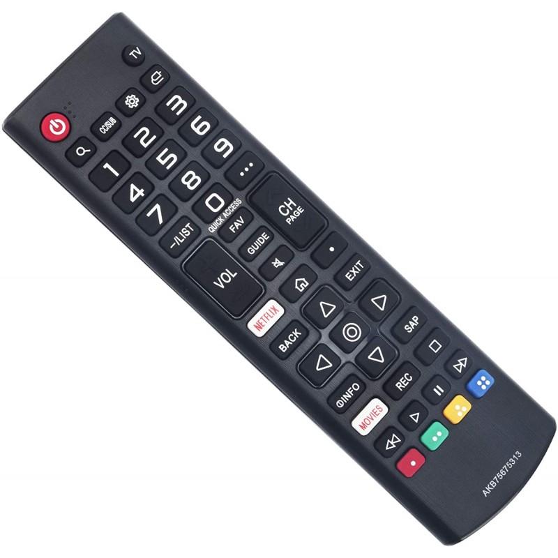 [해외] 미국배송 WINFLIKE AKB75675313 Remote Replace for LGTV 60UM7200PUA 60UM7100DUA 86UM8070AUB 86UM8070  1