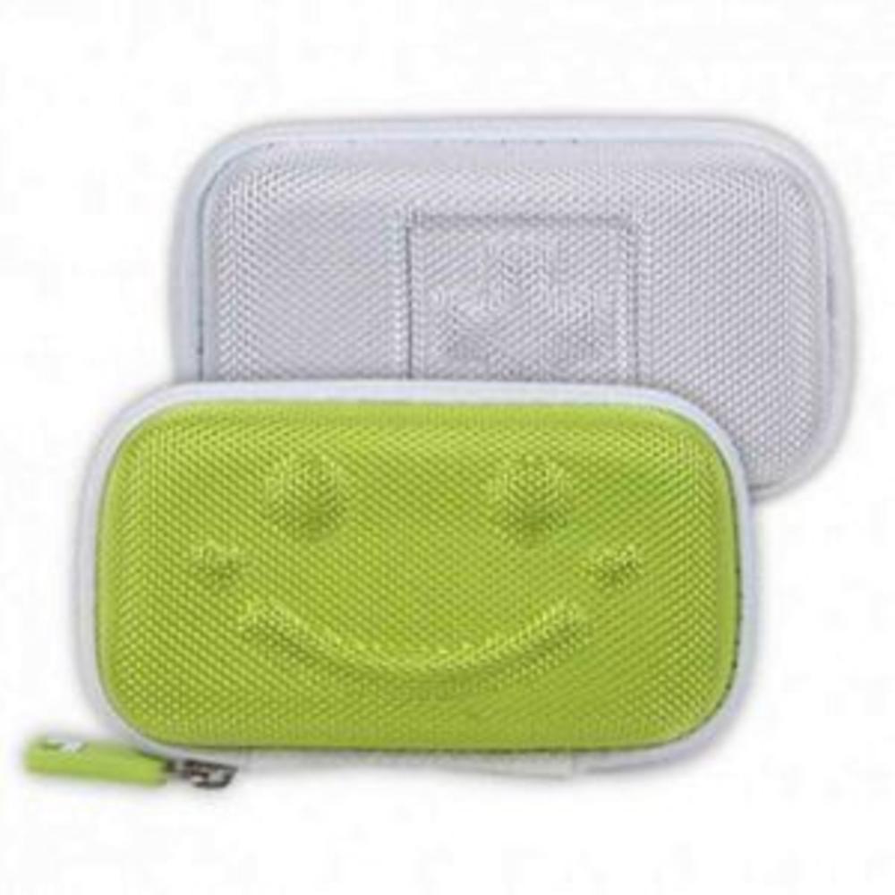 레드 (색상 : 레드) 이어폰 케이스 SMILE POUCH 휴대폰파우치 디지털파우치 휴대폰용파우치 여행용파우치 파우치 AHW_8269638