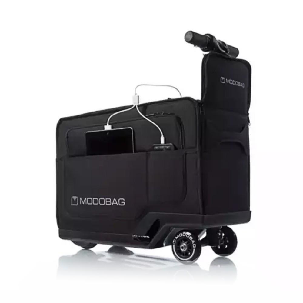 [해외] 미국 정품 MODOBAG 스마트 전기 유인 승마 수하물 트롤리 탑승 케이스 가방 남성과 여성