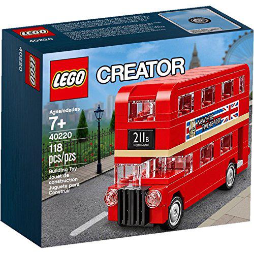 [해외] 레고 40220 크리에이터 더블 데커 런던 버스