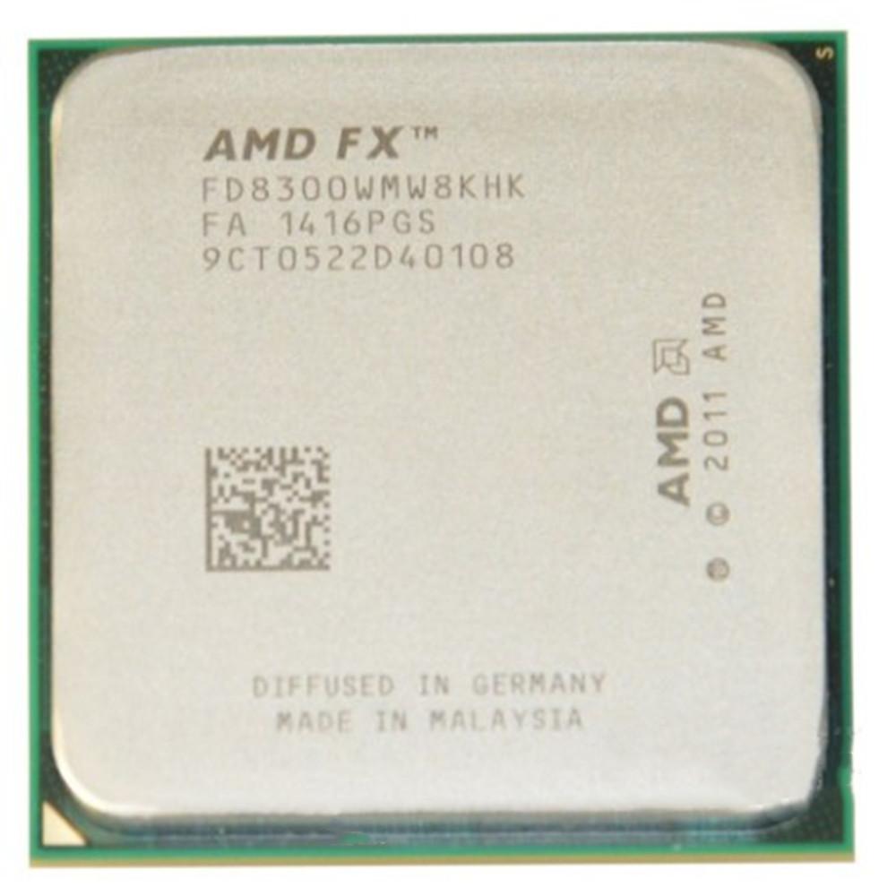 [해외] CPU 8100 8150CPU 데스크탑 AMD 8 컴퓨터 8320 형 FX8300 812  {포장 종류:06 8 개 패키지}