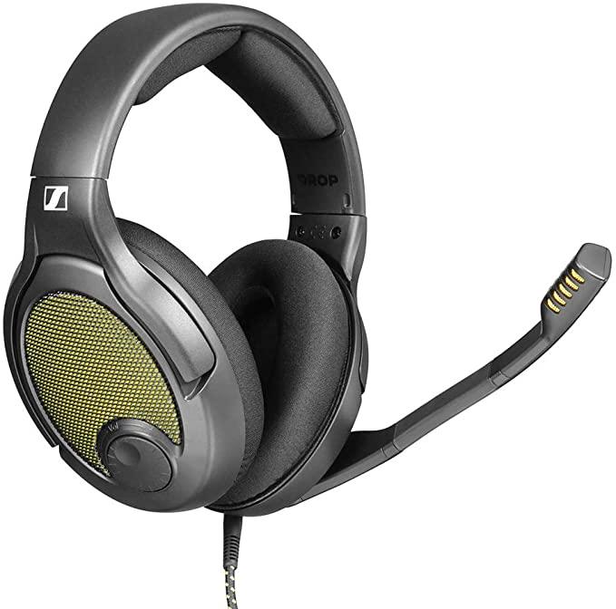 [해외] DROP + Sennheiser PC38X Gaming Headset  Noise-Cancelling Microphone with Over-Ear Open-Back Design
