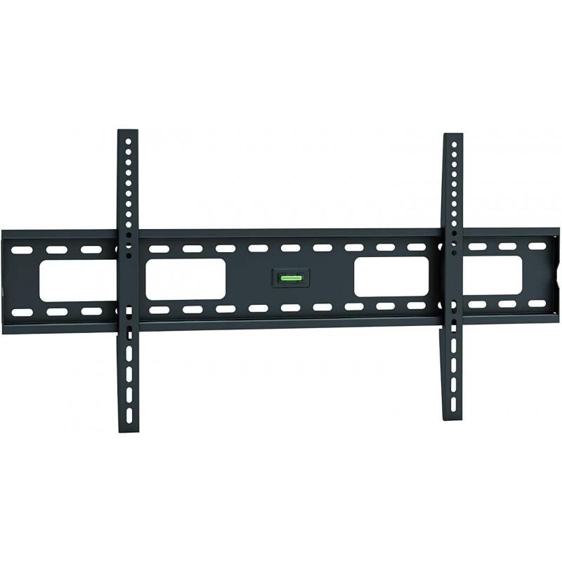 [해외] 삼성 Q90T 85급 HDR 4K UHD 스마트 QLED TV(QN85Q90)용 Ultra Slim 플랫 TV 벽걸이 브래킷  단일옵션