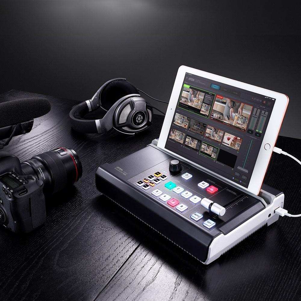 ATEN UC9020 StreamLIVE HD 올인원 멀티채널 AV 믹서