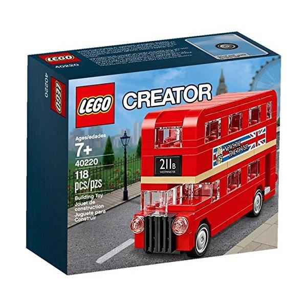 레고 크리에이터 40220 미니 런던버스