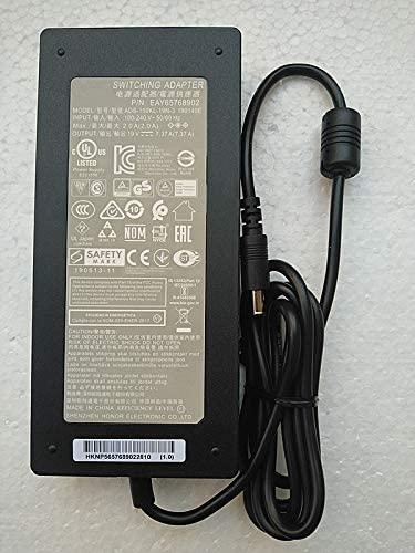 [해외] New AC Adapter Slim 140W 19V 7.37A ADS-150KL-19N-3 190140E EAY65768902 for LG 32BL95U LG 34GK950G  1
