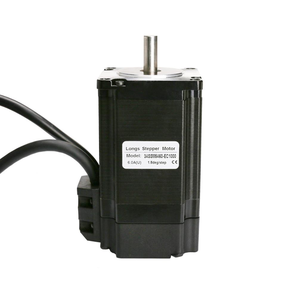 [해외] 승진 EU NEMA34 폐 루프 모터 170mm 12Nm 1700 ozin 6A 1000 라인 엔코더 및 HBS86H 서보 드라이버  {없음:없음}