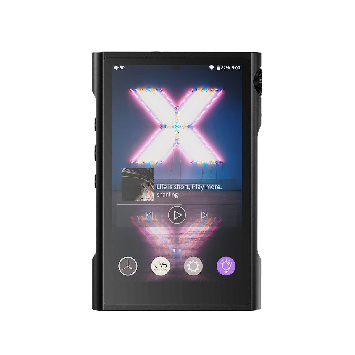 [해외] AK SHANLING M3X MQA 안드로이드 MP3 플레이어 블루투스 듀얼 ES9219C LDAC LHDC DSD256 32 비트/384KHZ 고해상도 휴대용 음악 DAP Q1