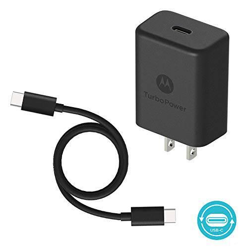 [해외] Motorola TurboPower 27 PD Charger w/ 3.3ft (1m) USB-C to C c/14071852