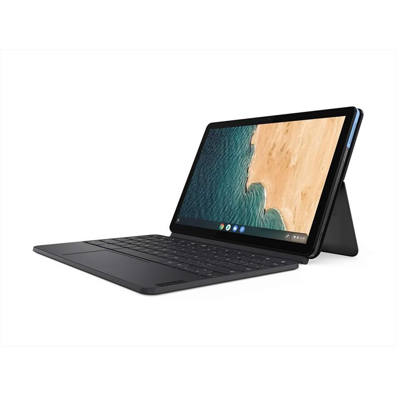 [해외] Lenovo Chromebook Duet  2-in-1  10.1 형 WUXGA (1920 x 1200) 디스플레이  MediaTek Helio P60T  4GB LPDDR4X R
