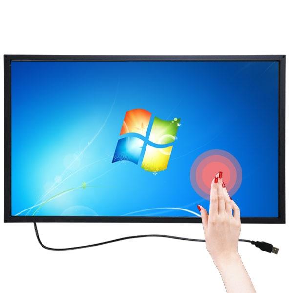 two1mall [비아시스템] 적외선 터치스크린 55형 / 55인치 16:9 [외부부착형/USB] 멀티 터치 모니터 스크린/터치  424083