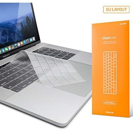 [해외] UPPERCASE GhostCover 프리미엄 초슬림 키보드 프로텍터 for 맥북 프로 Macbook Pro With 터치바 13 or 15