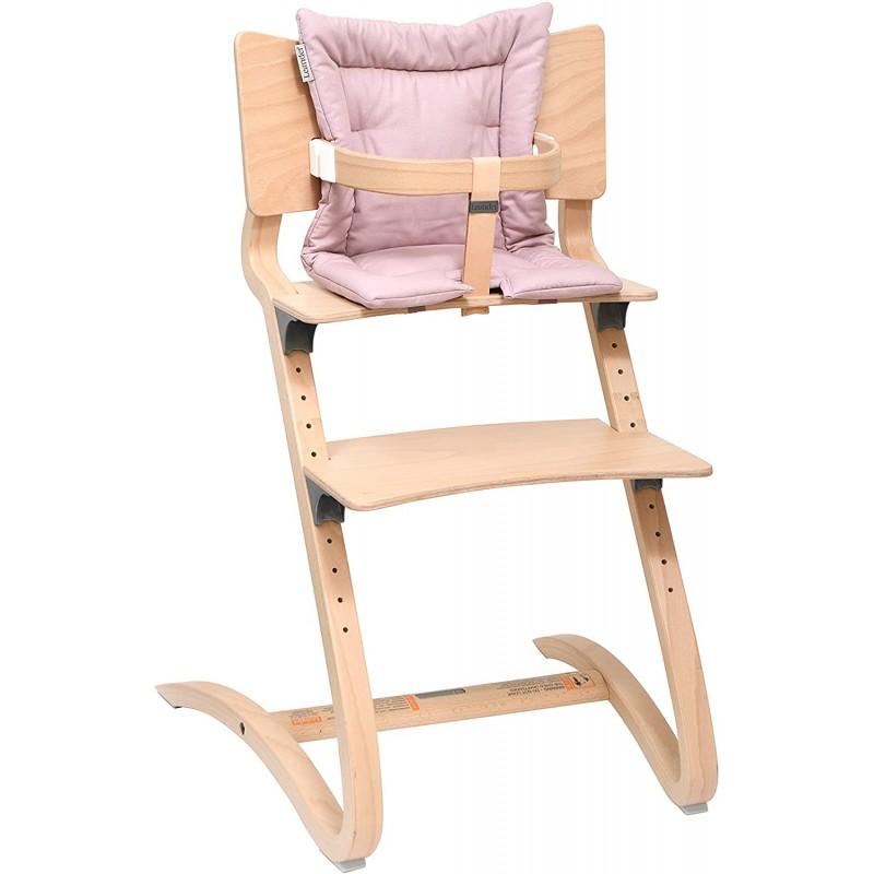[해외] [정품]리엔 랜더(Leander)하이 의자 세이프티 바 부속 자연 쿠션 다스티 로즈 8년 보증:홈&키친