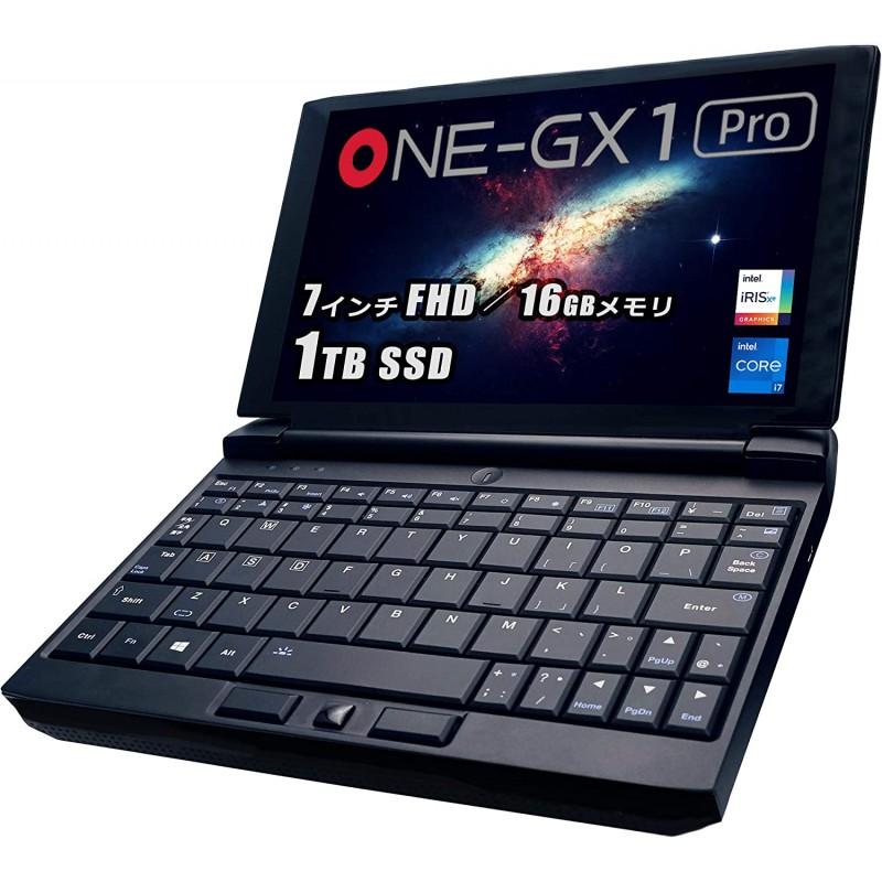 [해외] 일본배송 One-Netbook OneGx1 Pro게이밍 UMPC(Core i7/16GB/1TB(512GB SSD+512GB SSD)WiFi판 국내 정규판  1  단일옵션  단일옵션