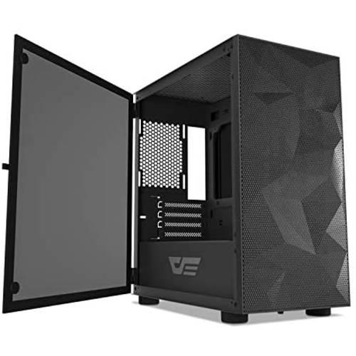 [해외] DarkFlash darkFlash DLM21 MESH Micro ATX Mini ITX Tower MicroATX Black  상세내용참조