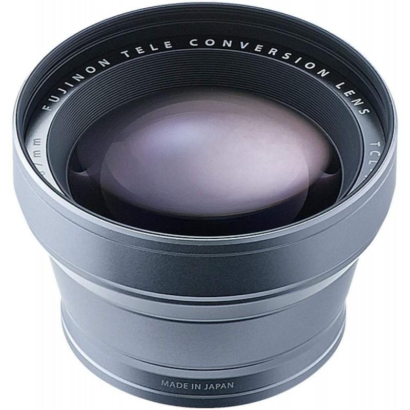 [해외] FUJIFILM X100 용 망원 변환 렌즈 실버 TCL-X100S II