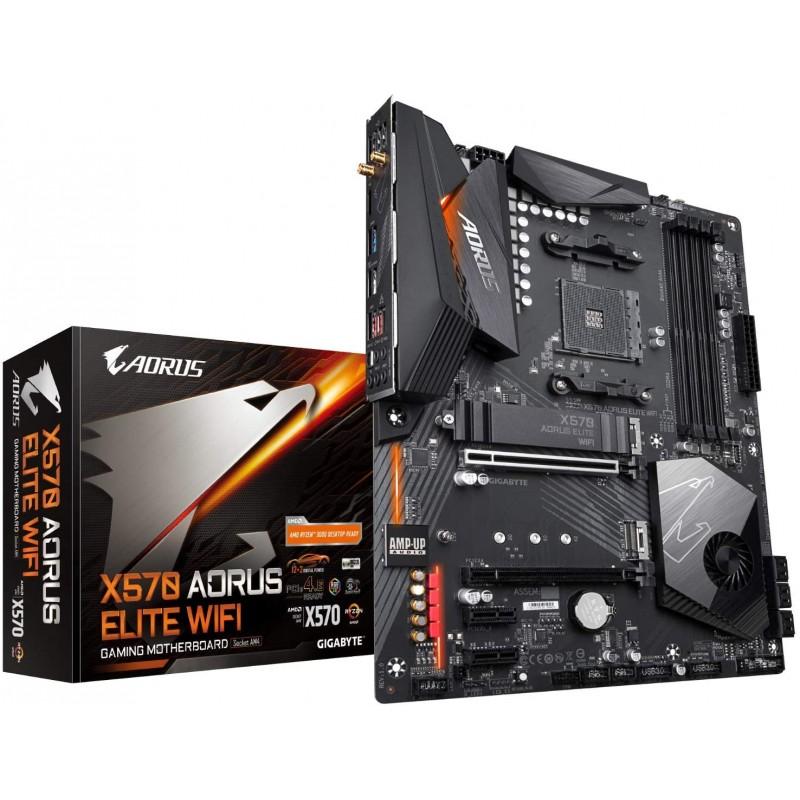 [해외] GIGABYTE X570 AROUS Elite Wi-Fi(AMD Ryzen 3000/X570/ATX/PCIe4.0/DDR4/Intel 듀얼 밴드 802.11