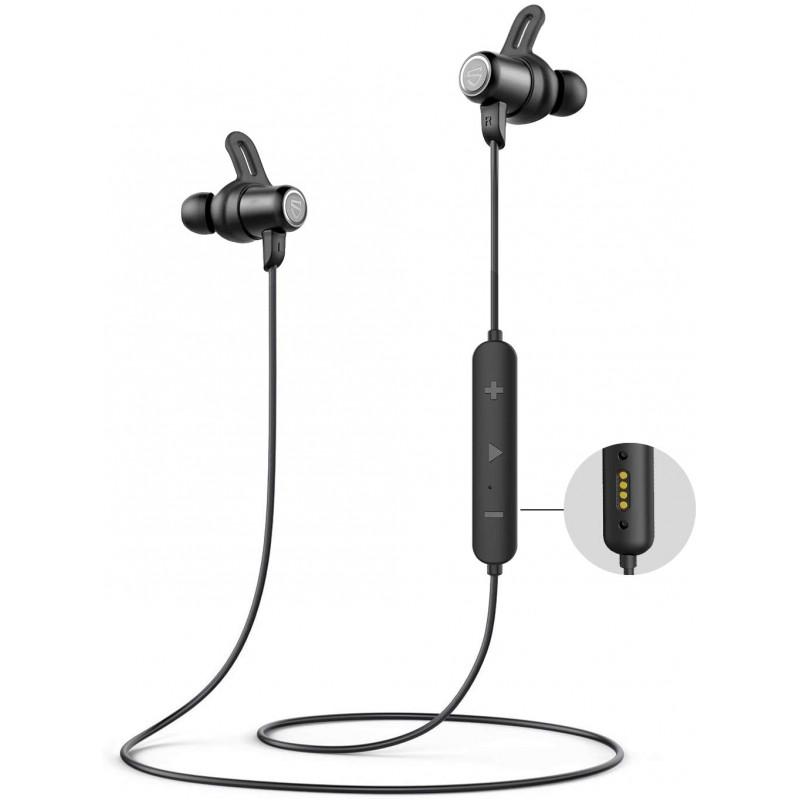 [해외] SoundPEATS Q35 HD Bluetooth 헤드폰 IPX8 방수 이어폰 형 스테레오 Bluetooth 5.0 이어폰 스포츠 용 마