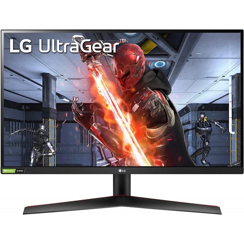 [해외] LG 27GN850-B 68.50cm(27인치) Nano IPS 1ms 144hz Ultragear 게임용 모니터(HDR 디스플레이 포트 HDMI  단일옵션