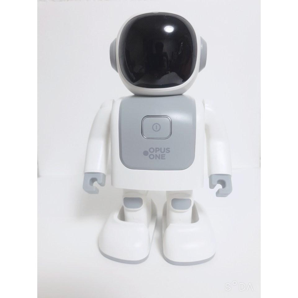 오퍼스원 댄싱 로봇 블루투스 스피커 씽고 OP-DRBTSKP-WH