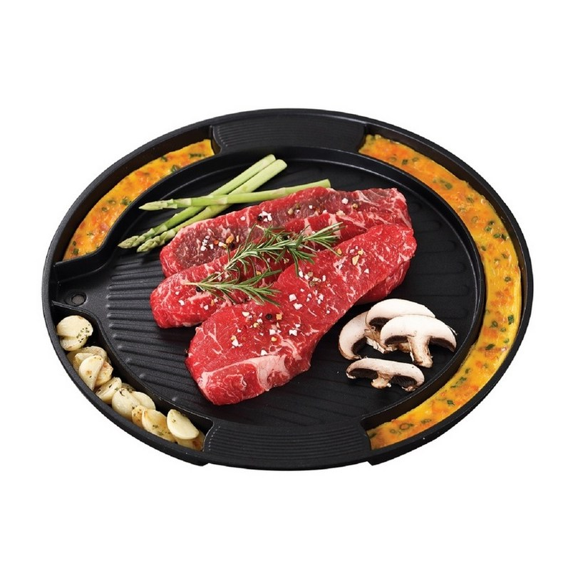 KitchenFlower Cookin IH Griddle 35cm 키친플라워 IH 계란찜 구이판 35cm