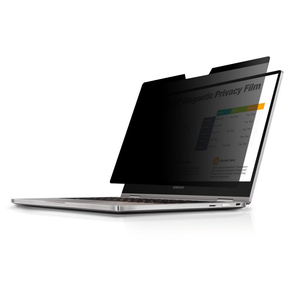 [첫 구매 시 30일 동안 무제한 무료배송] 다이아큐브 초간편 노트북 모니터 사생활 정보보호 보안필름 보호필름  삼성 갤럭시 북 프로 13.3인치 LTE  1개입