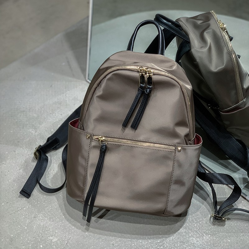 [해외] 대박여미마 여자중학생책가방 방수 나일론 경량 트래블백팩 여성 도난방지 백팩책가방 12 인치 노트북가방
