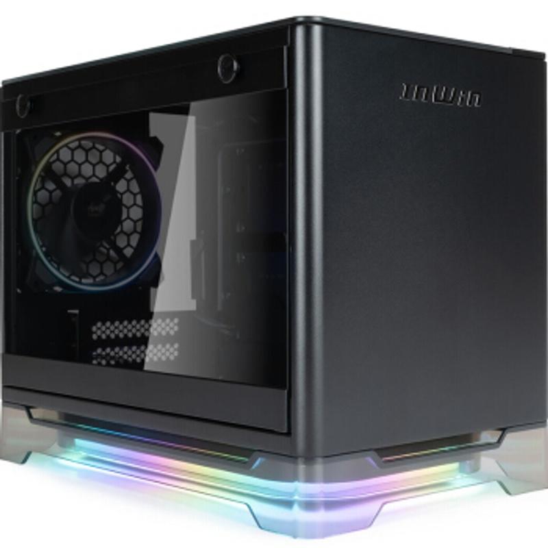 [해외] 식스팬 중고컴퓨터케이스 미니타워 IN WIN A1Plus 핑크 리미티드 에디션 미니 컴퓨터 케이스  {색상:A1 라이트 블랙}