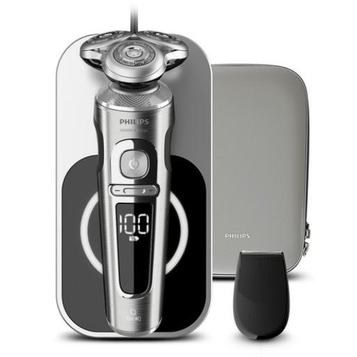 필립스 S9000 프레스티지 무선충전 전기면도기  SP9861/13  타임리스 엘레강스 라이트