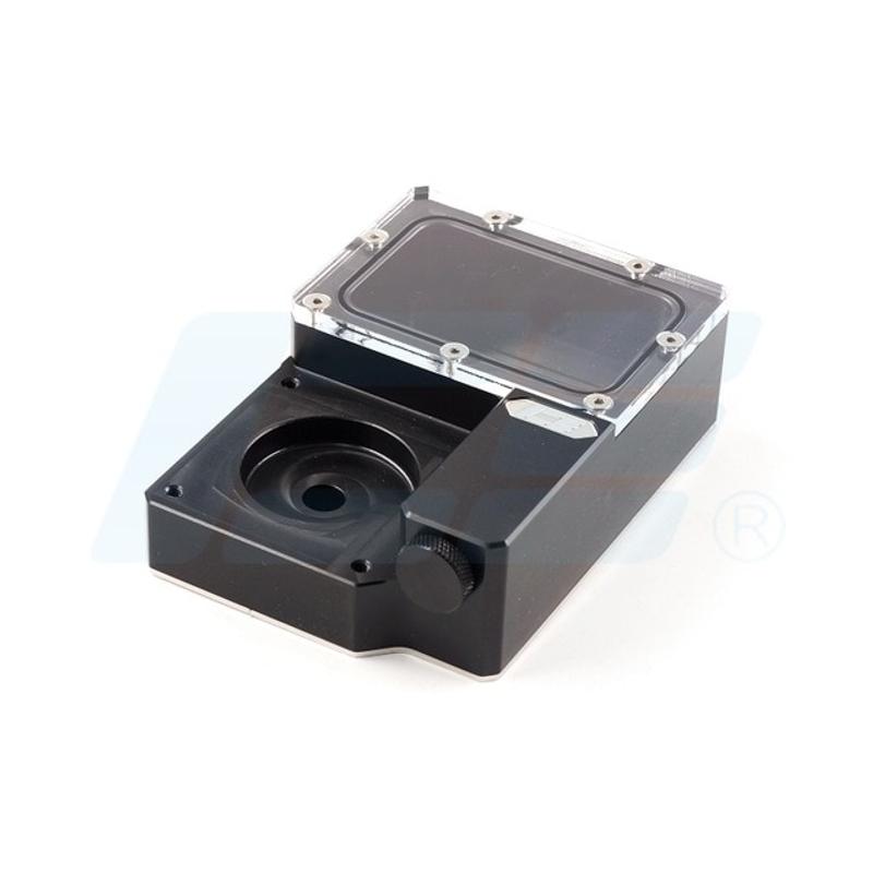 [해외] Iceman 냉각기 DDC 콤보 해상도 Ncase 섀시 M1 V4 V5 V6 Ncase 저수지 검은 물 탱크 125x89x41MM 240  {색깔:저수지 펌프 없음}
